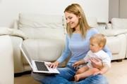 Работа для мам с детьми и домохозяек.